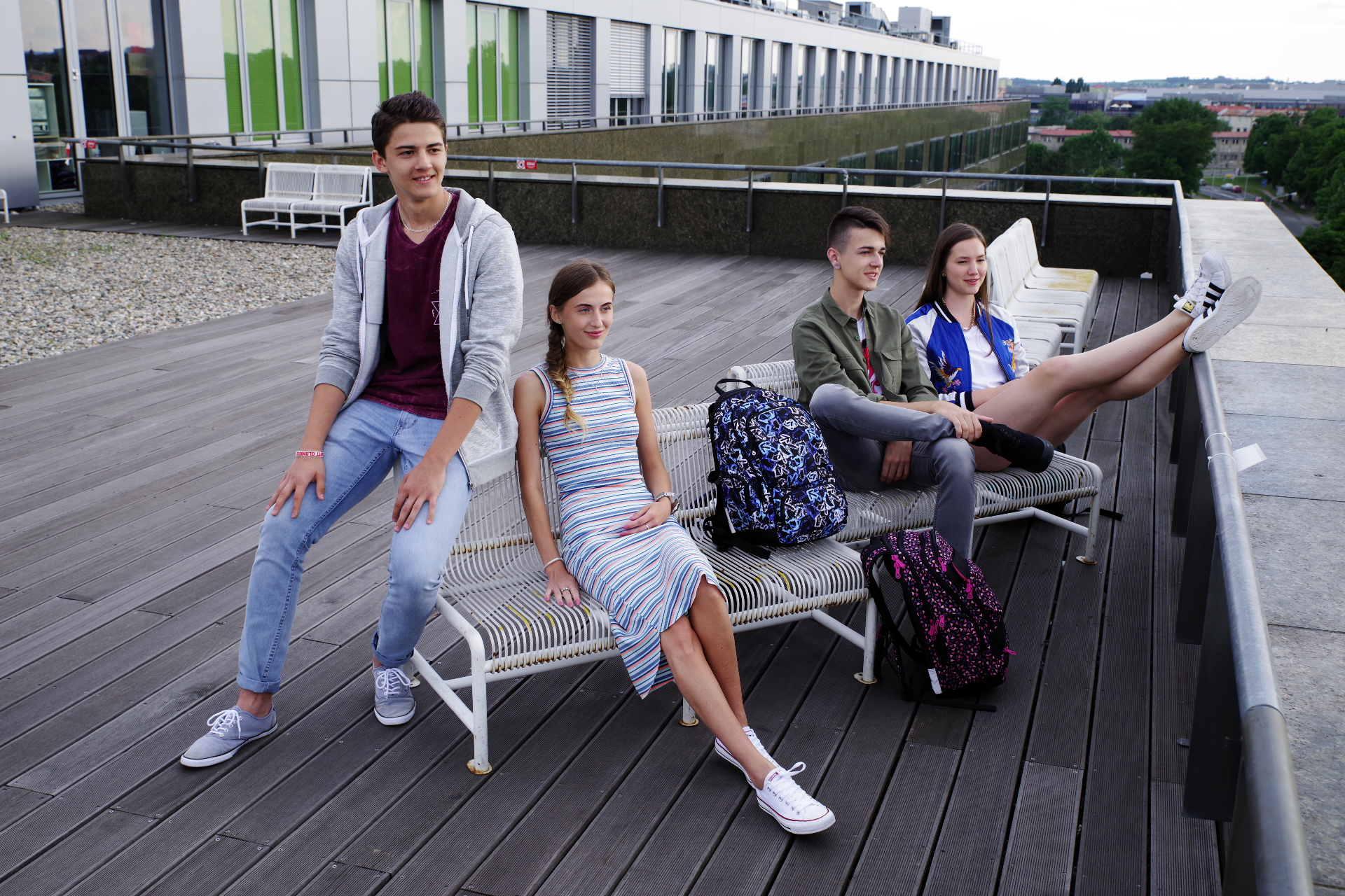 Plecaki młodzieżowe Topgal