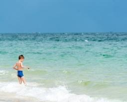 Ochrona dzieci przed oparzeniami słonecznymi